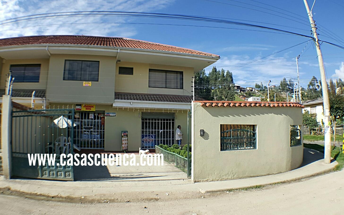 Casa Con Local Comercial Cuenca Misicata Casas Cuenca