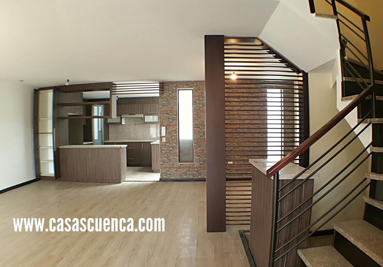 venta casas modernas en condominio cuenca